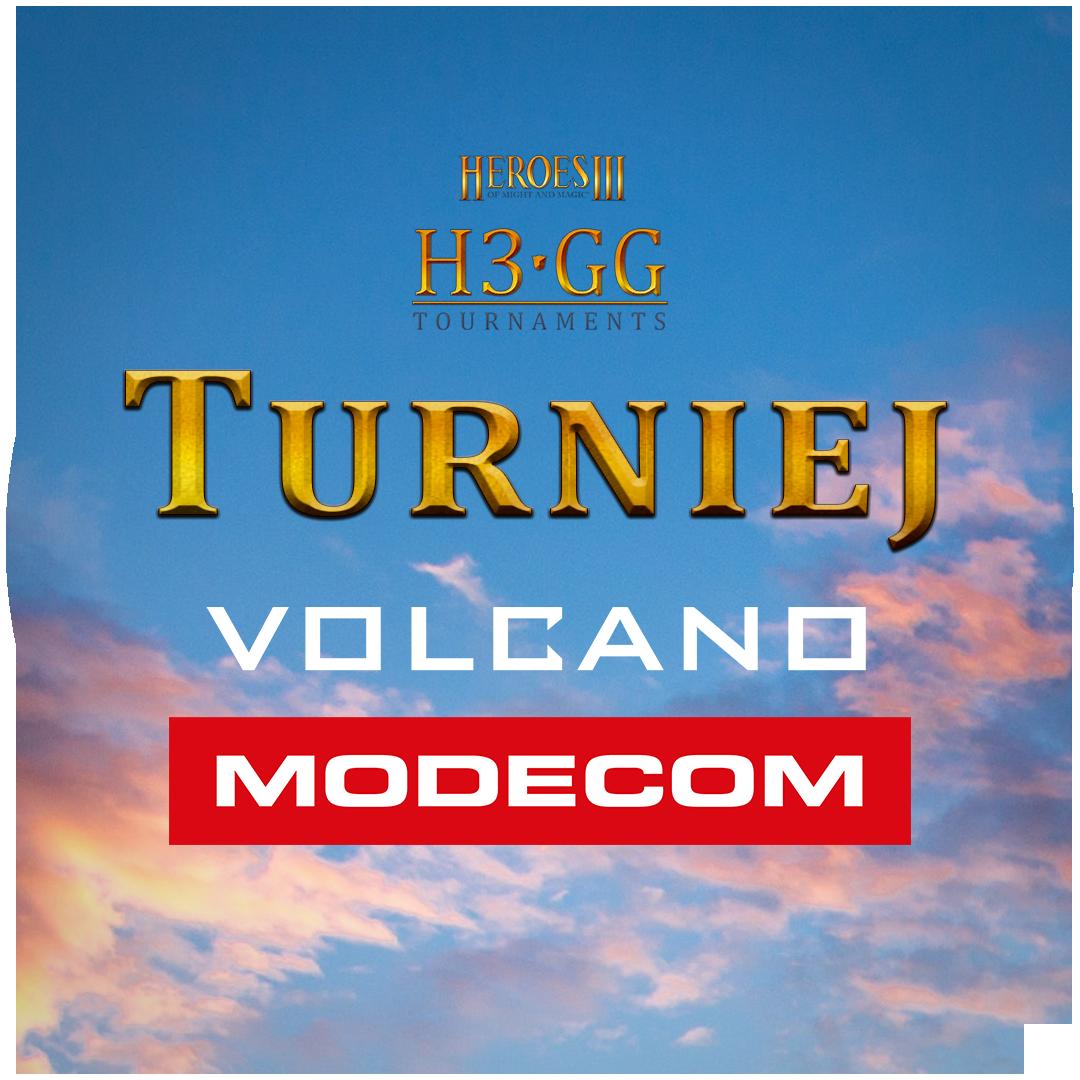 Turniej MODECOM Volcano logo